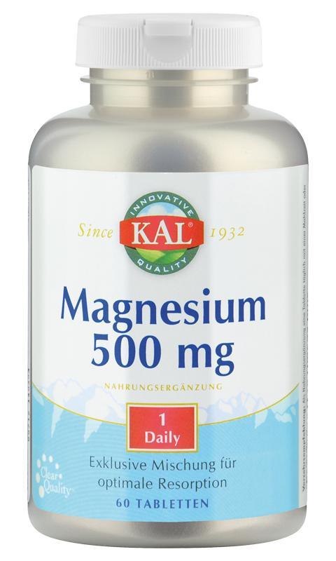 Magnesium 500 mg von KAL