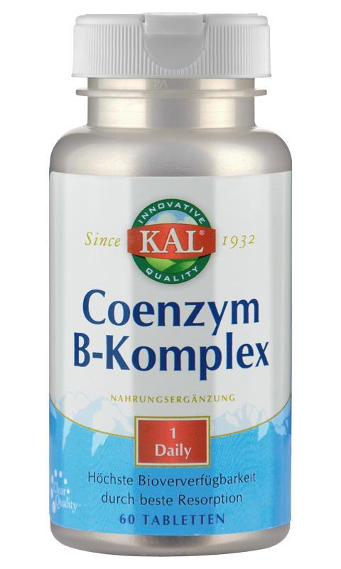 Coenzym-B-Komplex für beste Resorption