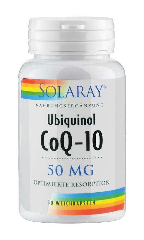 Ubiquinol / Coenzym Q-10 von Solaray